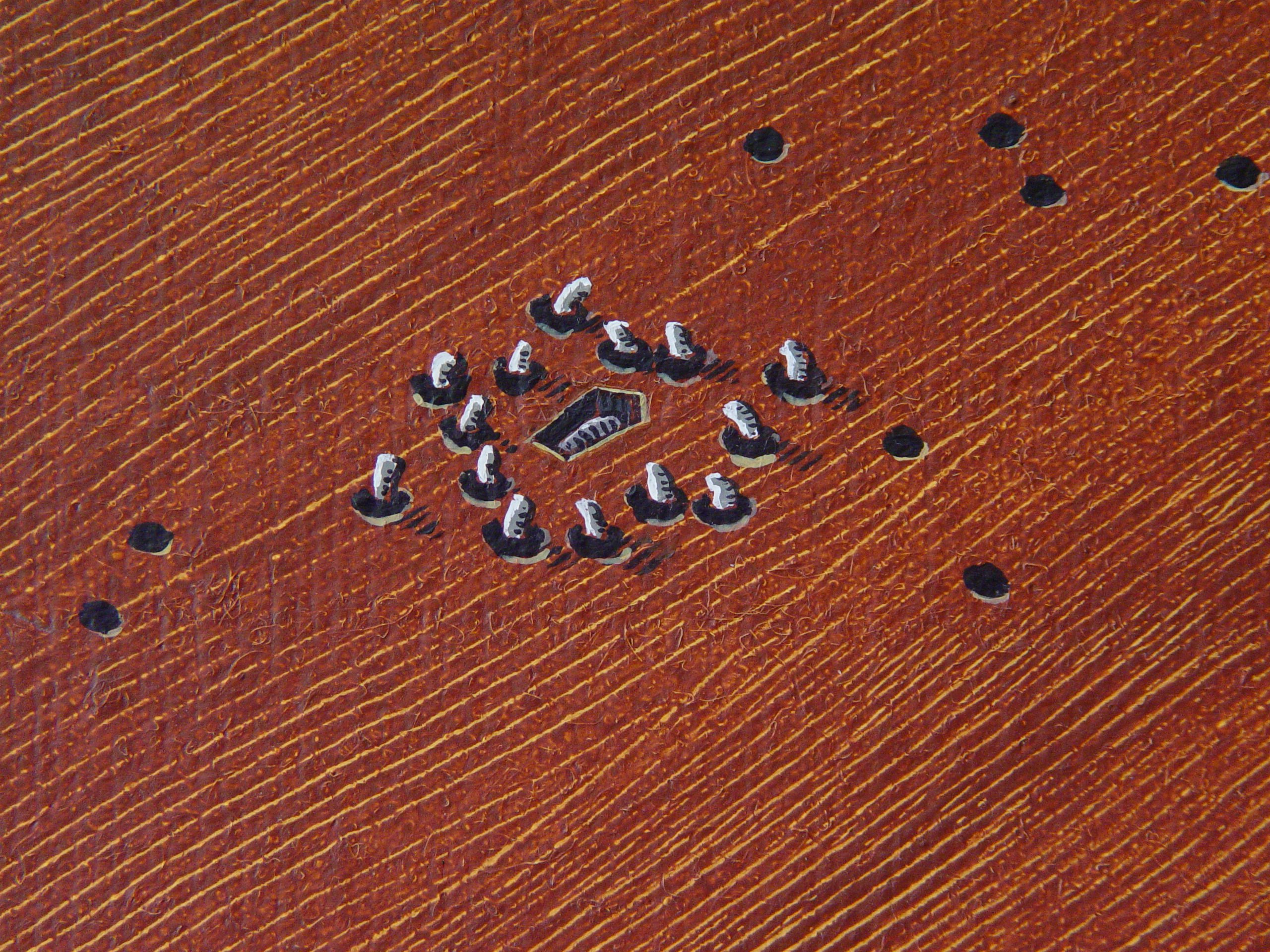 Wake  for a woodworm (detail)