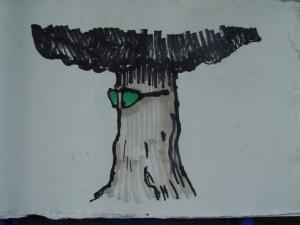 Tree, sketch, 2011